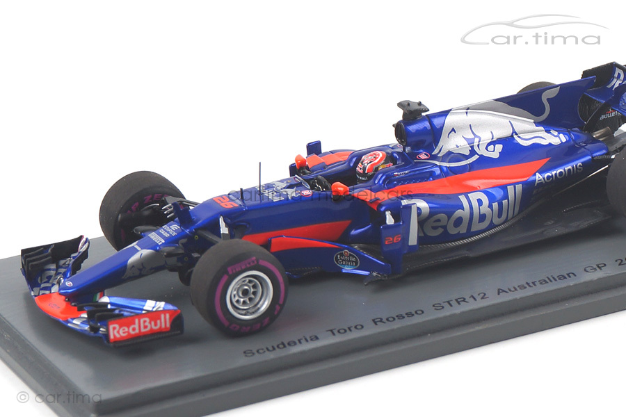 Scuderia Toro Rosso STR12 GP Australien 2017 Daniil Kvyat Spark 1:43 S5039
