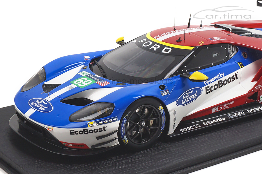 Ford GT LMGTE Pro 24h Le Mans 2016 Briscoe/Dixon/Westbrook TopSpeed 1:18 TS0065