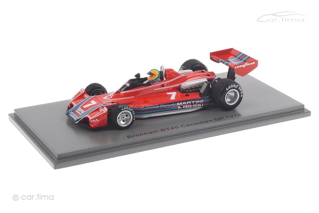 Brabham BT45 GP Kanada 1976 Larry Perkins Spark 1:43 S7097