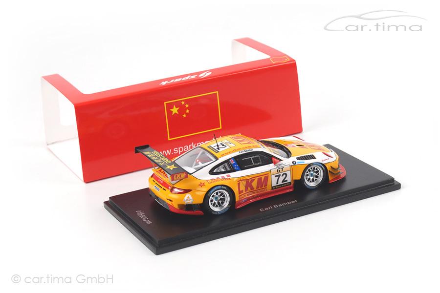 Porsche 911 GT3 R Macau 2014 Earl Bamber Spark 1:43 SA074