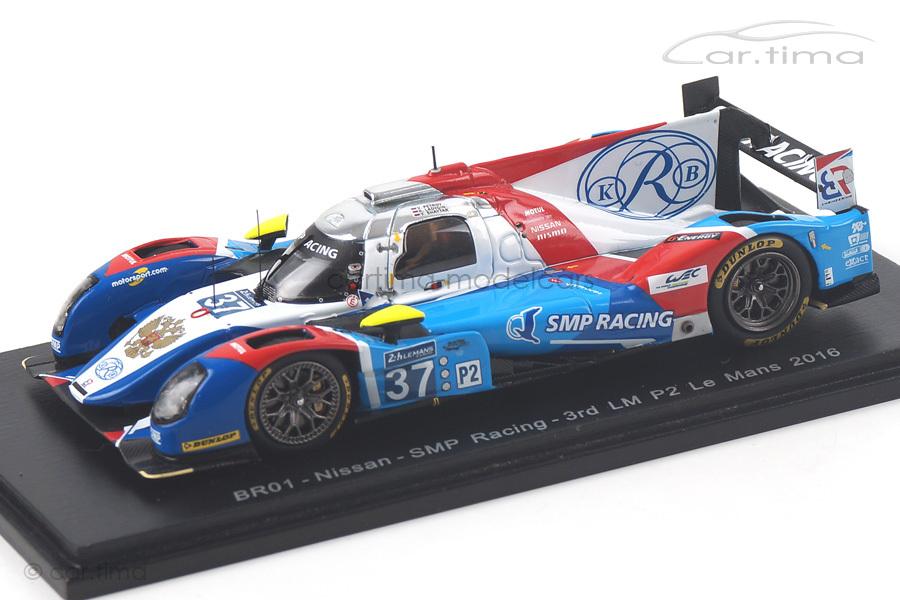 BR01-Nissan 24h Le Mans 2016 Ladygin/Petrov/Shaytar Spark 1:43 S5120