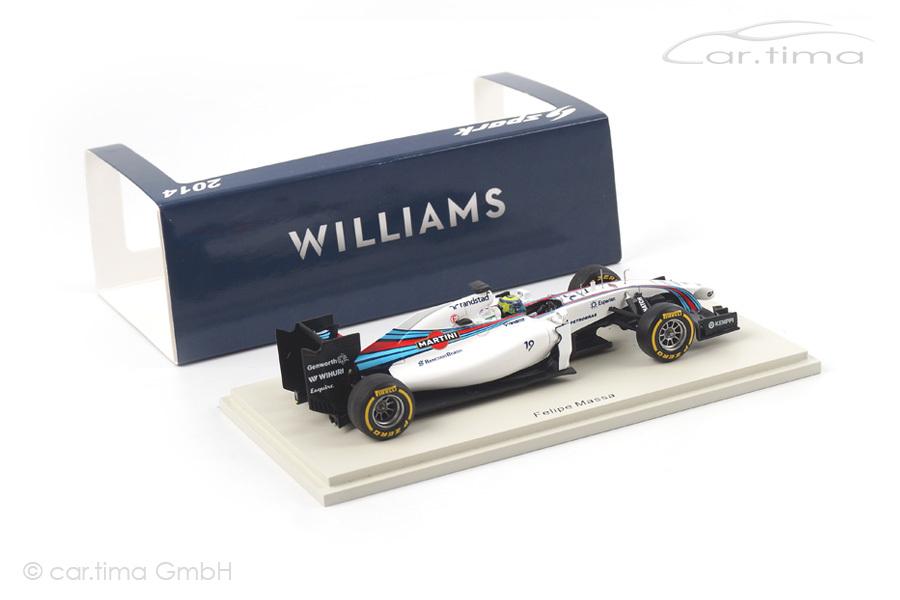 Williams FW36 Mercedes GP Australien 2014 Felipe Massa Spark 1:43 S3079