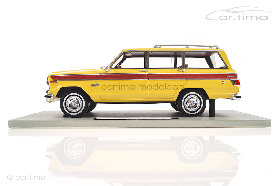 Jeep Grand Wagoneer gelb LS Collectibles 1:18 LS037D