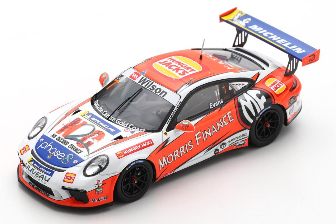 Porsche 911 (991) GT3 Cup Champion Carrera Cup Australien 2018 Evans Spark 1:43 AS032