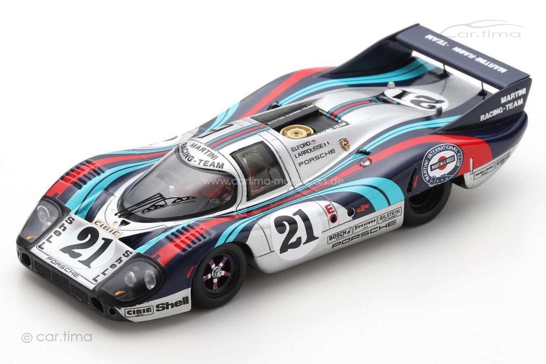 Porsche 917 L 24h Le Mans 1971 Elford/Larrousse Spark 1:43 S1099