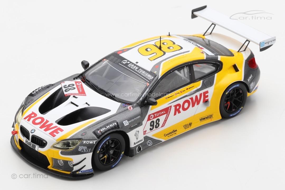 BMW M6 GT3 24h Nürburgring 2020 Blomqvist/Eng/Wittmann Spark 1:43 SG683