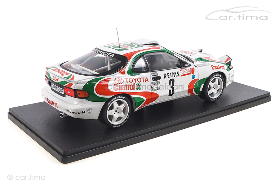 Toyota Celica ST185 Rallye Monte Carlo 1993 Auriol/Occelli IXO 1:18 18RMC041A