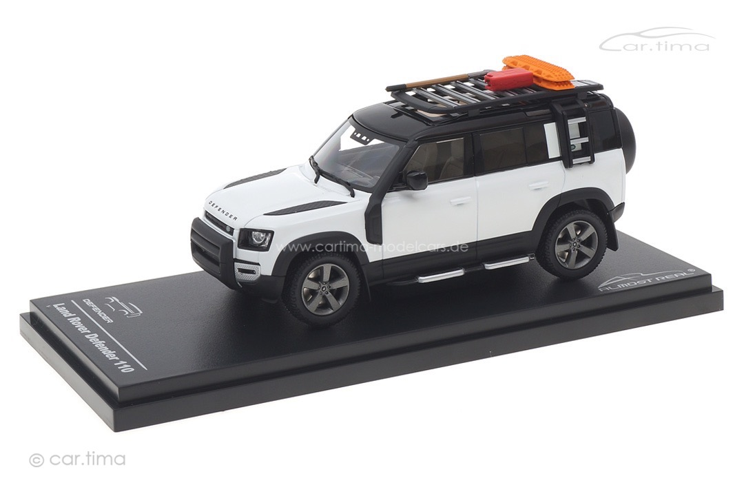 Land Rover Defender 110 2020 Fuji White Almost Real 1:43 410807
