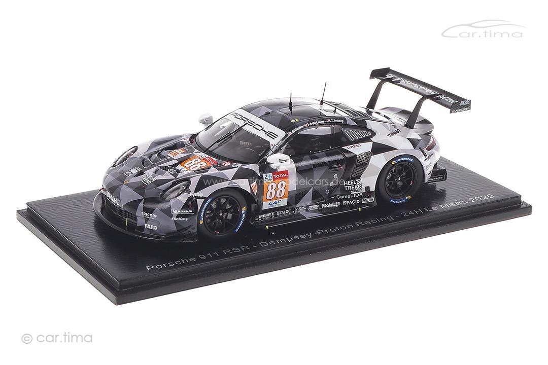 Porsche 911 RSR 24h Le Mans 2020 Bastien/de Leener/Preining Spark 1:43 S7992