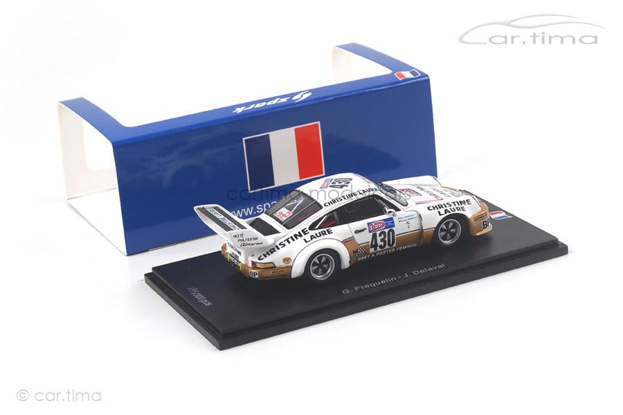 Porsche 911 Carrera RSR Tour Auto 1976 Frequelin/Delaval Spark 1:43 SF099