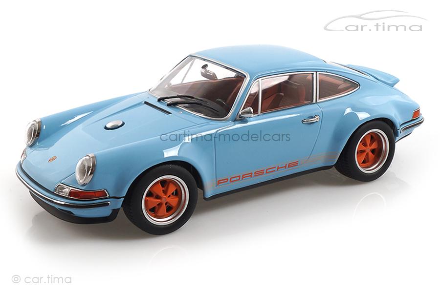 Singer Porsche 911 Gulf blau KK Scale 1:18 KKDC180441
