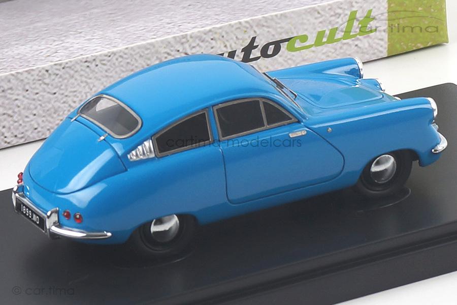 Siop Marathon Corsaire 1953 blau autocult 1:43 02003