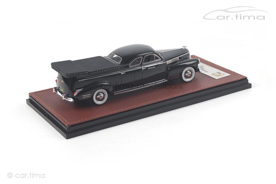 Cadillac Miller Meteor Flower Car 1941 schwarz GLM 1:43 GLM43104001