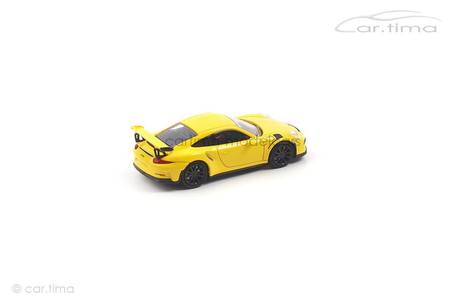Porsche 911 (991) GT3 RS Racinggelb Minichamps 1:87 870063222