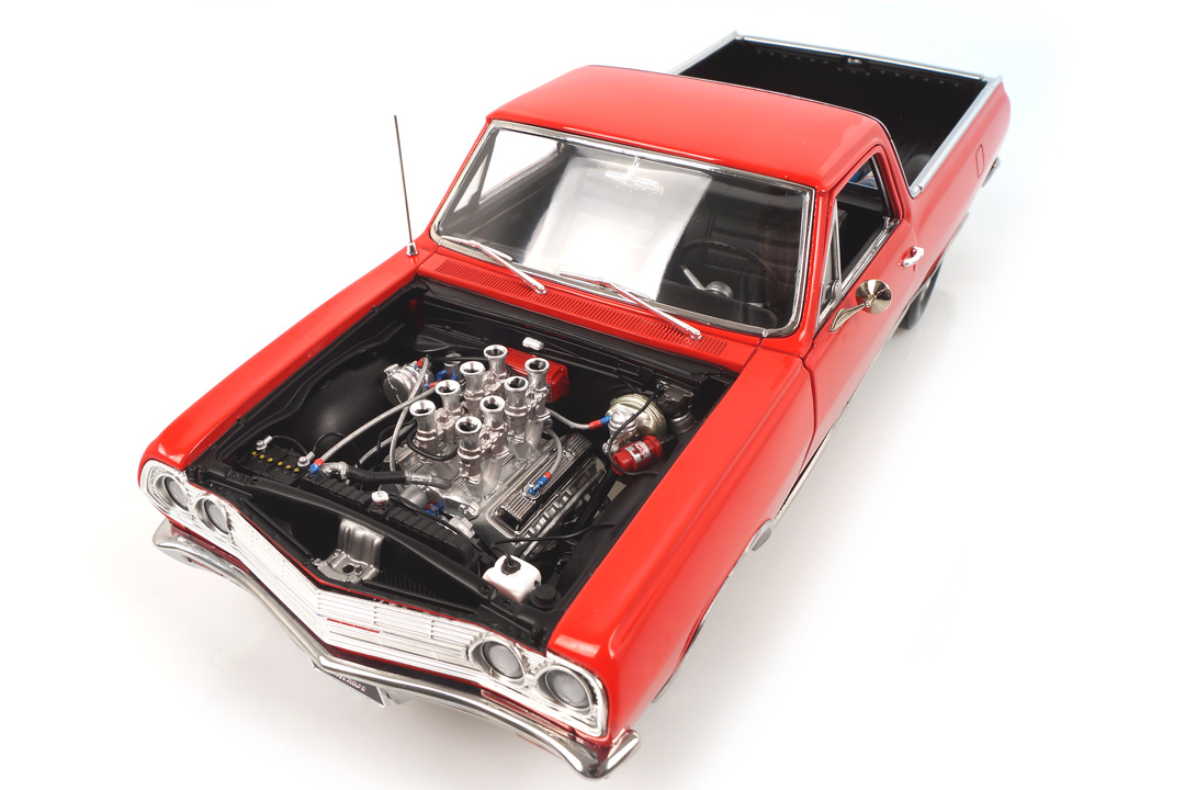Chevrolet El Camino 1965 Drag Outlaws rot  ACME 1:18 A1805411