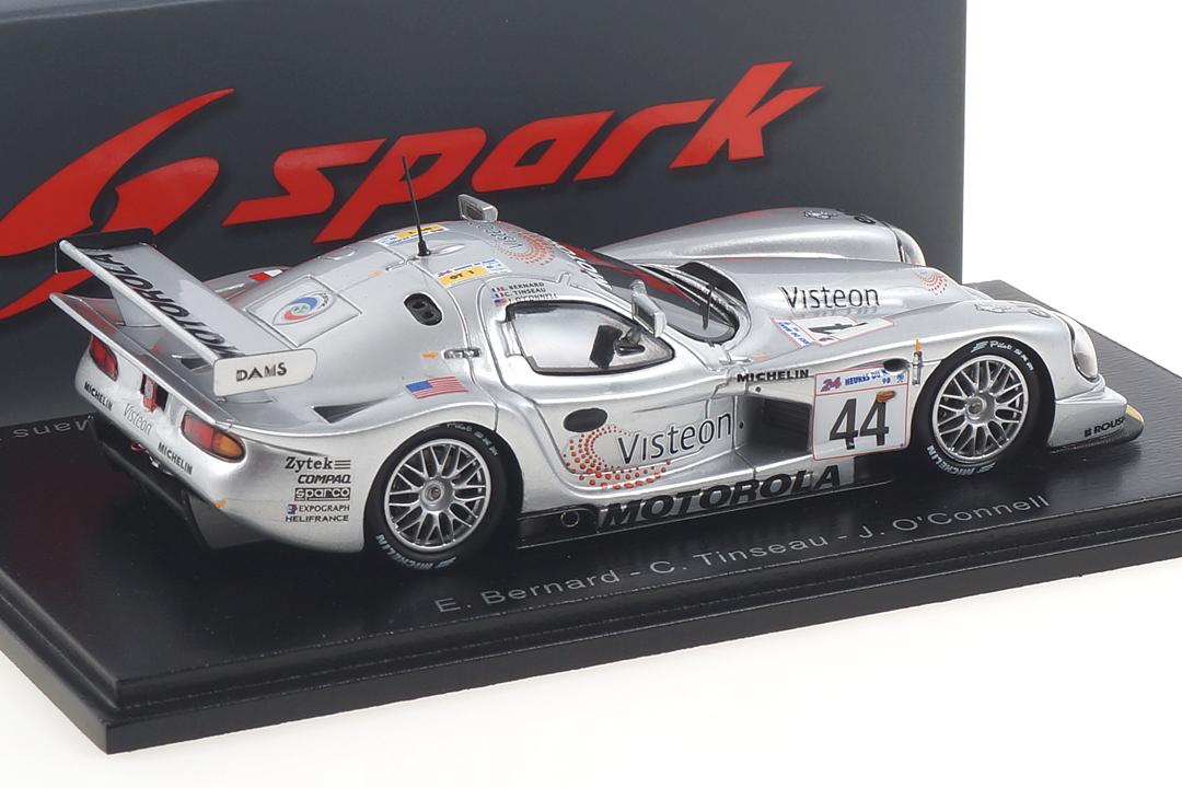 Panoz Esperante GTR-1 24h Le Mans 1998 Bernard/O´Connell/Tinseau Spark 1:43 S5027