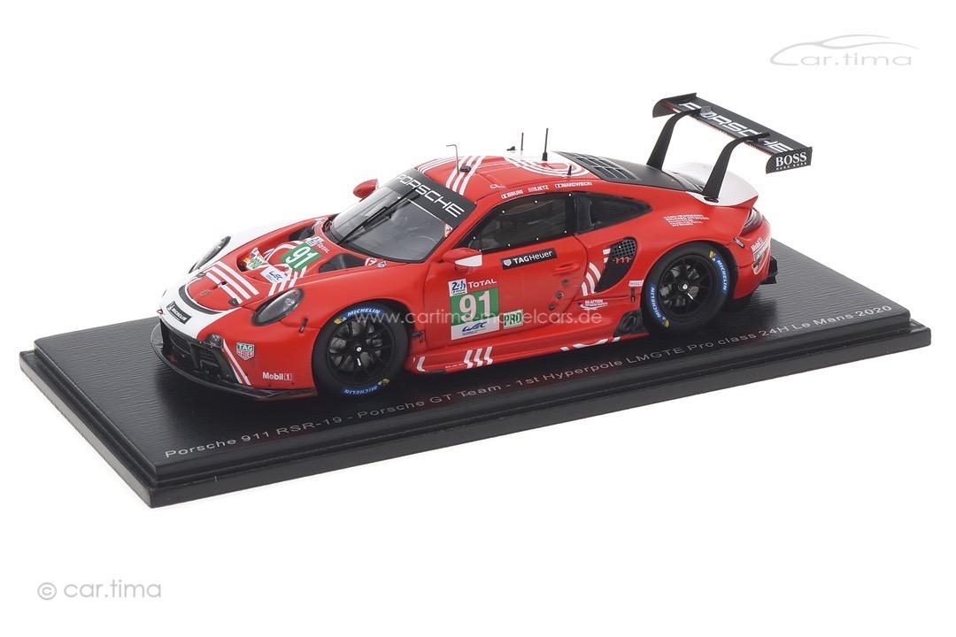 Porsche 911 RSR 24h Le Mans 2020 Bruni/Lietz/Makowiecki Spark 1:43 S7983