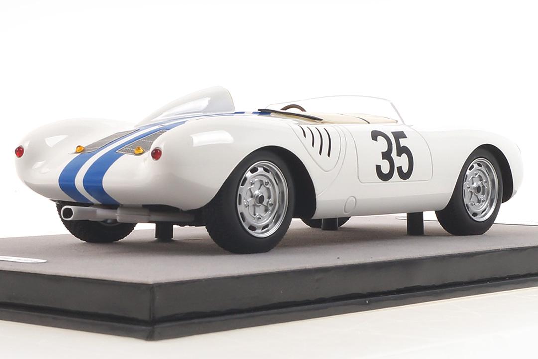 Porsche 550A RS 24h Le Mans 1957 Hugus/Godin de Beaufort Tecnomodel 1:18 TM18-141A