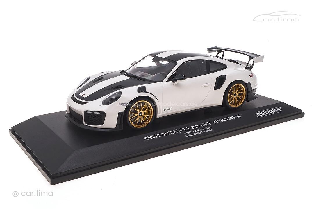 Porsche 911 (991 II) GT2 RS Weissach Package Weiß Minichamps 1:18 153068308