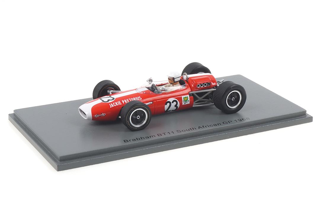 Brabham BT11 South African GP 1967 Jackie Pretorius Spark 1:43 S7090