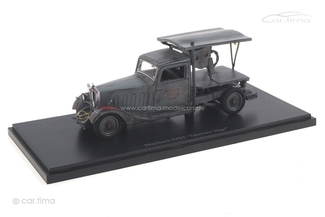 "Maybach DSH ""fahrbare Säge"" 1935 autocult 1:43 11013"