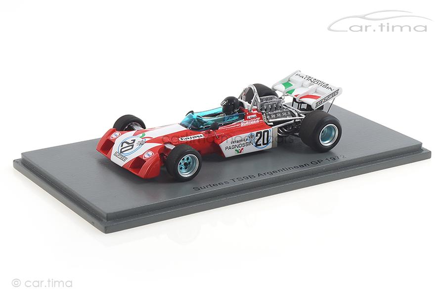 Surtees TS9B GP Argentinien 1972 Andrea de Adamich Spark 1:43 S3992