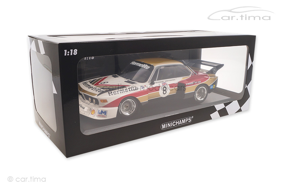 BMW 3.5 CSL 1000 km Nürburgring 1976 Fitzpatrick/Walkinshaw Minichamps 1:18 155762608
