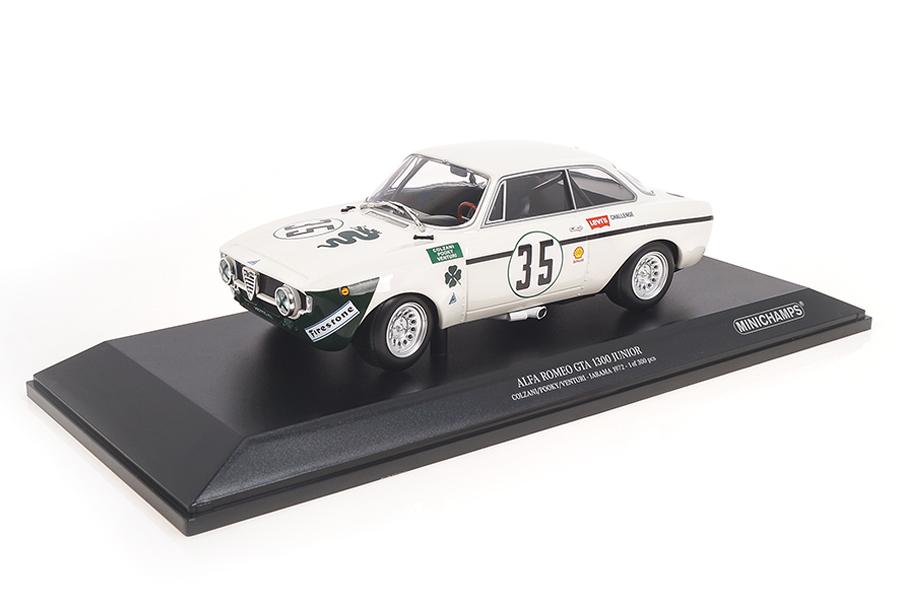 Alfa Romeo GTA 1300 Junior Jarama 1972 Colzani/Venturi Minichamps 1:18 155721235