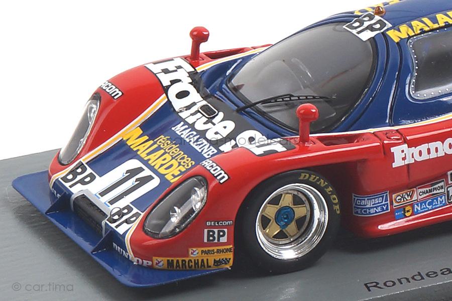 Rondeau M382 24h Le Mans 1982 Lapeyre/Migault/Spice Spark 1:43 S2274