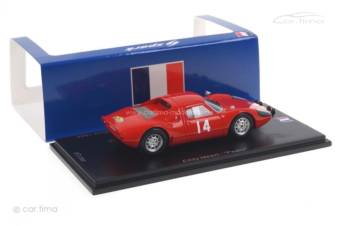 """Porsche 904 GTS Rallye des Routes du Nord 1965 Meert/""""Pedro"""" Spark 1:43 SF164"""