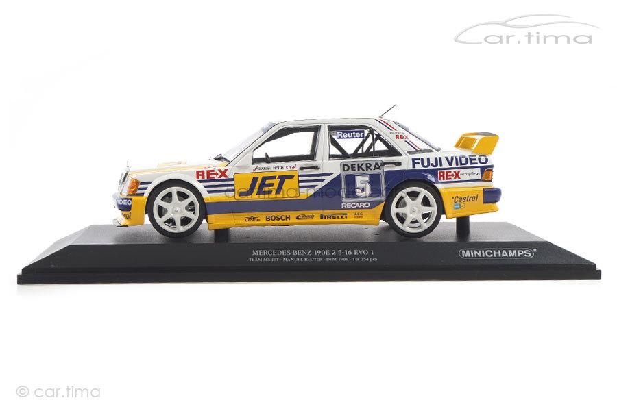 Mercedes-Benz 190E 2.5-16 EVO 1 DTM 1989 Manuel Reuter Minichamps 1:18 155893605