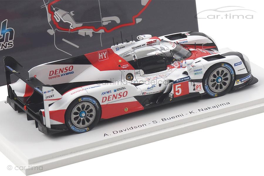 Toyota TS050-Hybrid 24h Le Mans 2016 Buemi/Davidson/Nakajima Spark 1:43 S5102