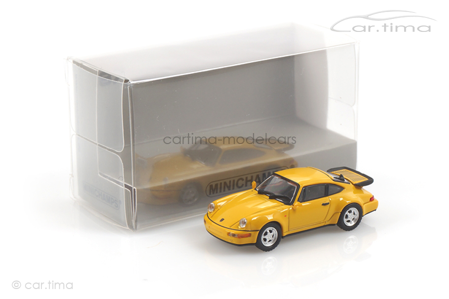 Porsche 911 (964) Turbo Speedgelb Minichamps 1:87 870069102
