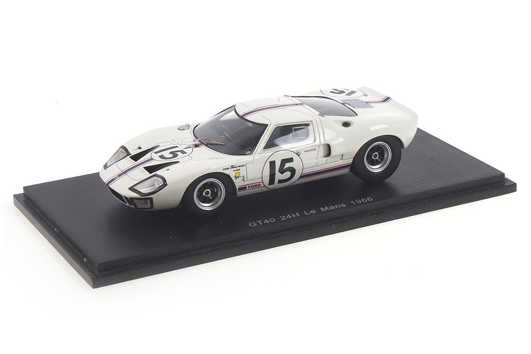 Ford GT40 24h Le Mans 1966 Ligier/Grossmann Spark 1:43 S4074