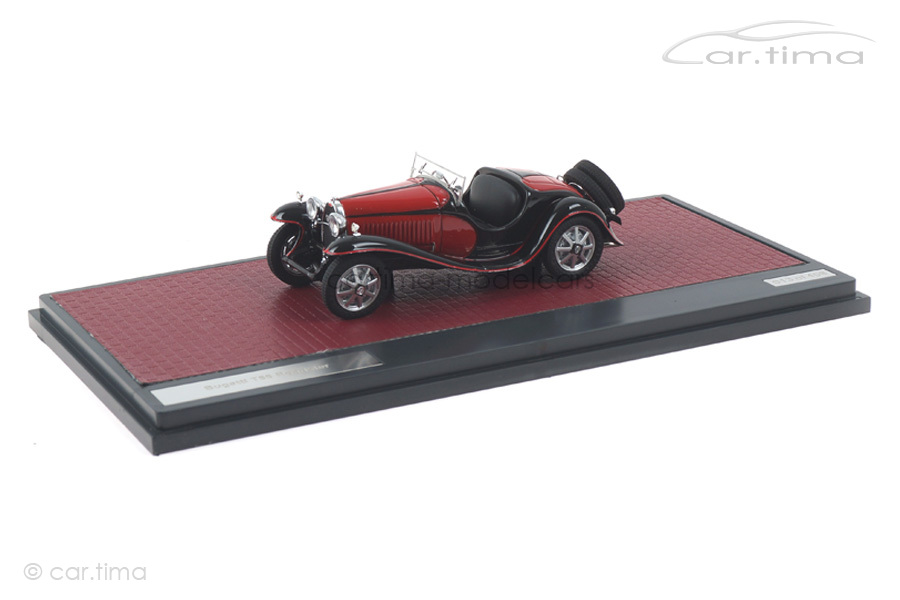 Bugatti T55 Roadster schwarz/rot Matrix 1:43 MX40205-072