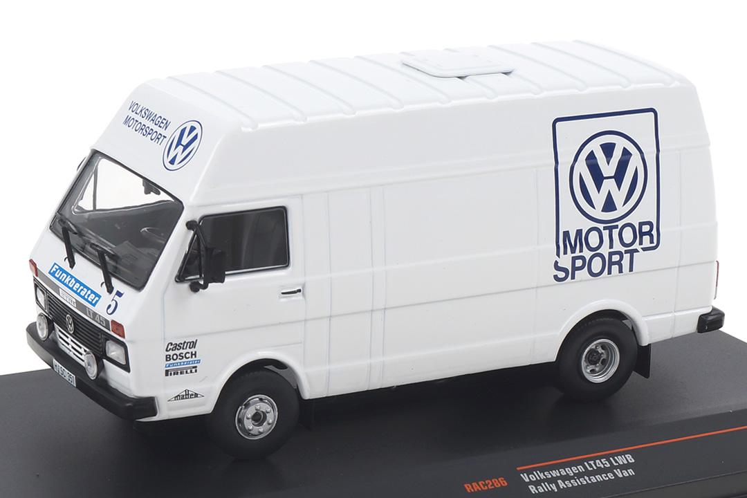 VW Volkswagen LT Rallye Assistance VW Motorsport IXO 1:43 RAC286X