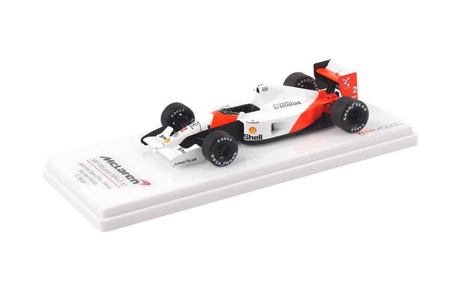 McLaren MP4/6 Winner GP Japan 1991 Gerhard Berger TSM 1:43 TSM144333 #wfde