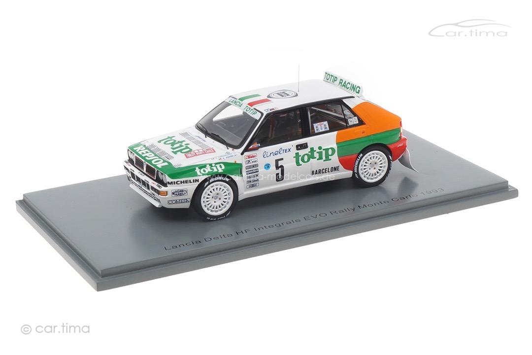 Lancia Delta HF Integrale EVO Rally Monte Carlo 1993 Aghini/Farnocchia Spark 1:43 S9025