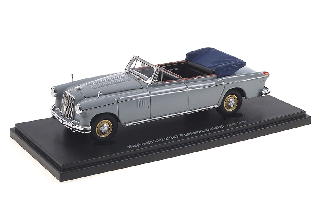 Maybach SW 38/42 Ponton Convertible grau Avenue43 1:43 60042