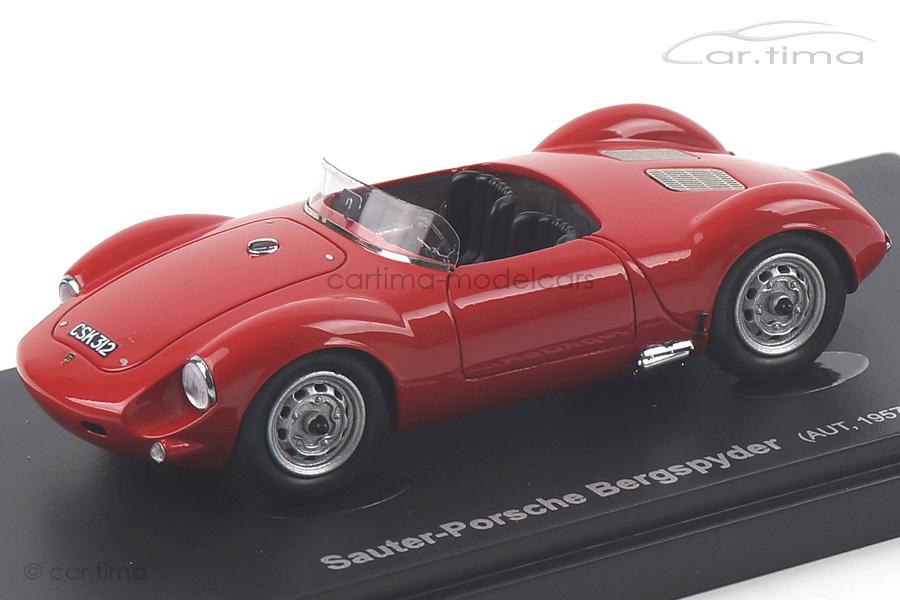 Porsche Sauter Bergspyder rot Avenue43 1:43 60001