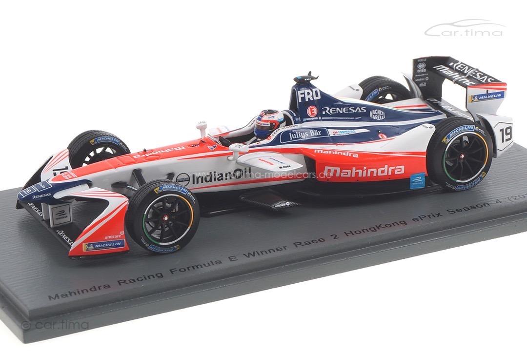 Mahindra Racing Formula E Winner HongKong Season 4 Felix Rosenqvist Spark 1:43 S5932