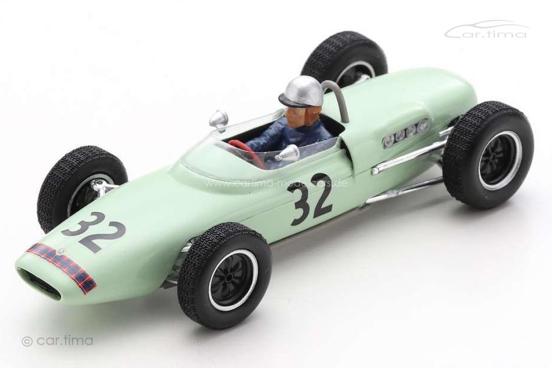 Lotus 18-21 GP Großbritannien 1961 Lucien Bianchi Spark 1:43 S7446