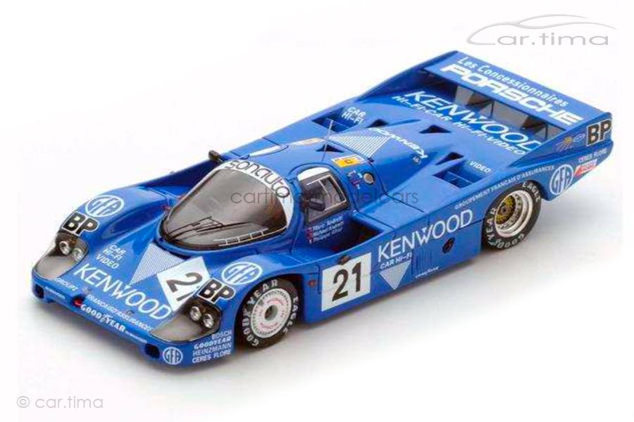 Porsche 956 L 24h Le Mans 1983 Andretti/Andretti/Alliot Spark 1:64 Y177