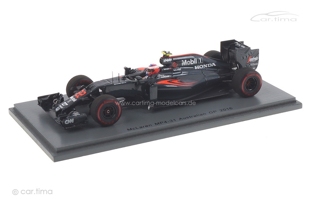 McLaren MP4-31 GP Australien 2016 Jenson Button Spark 1:43 S5012