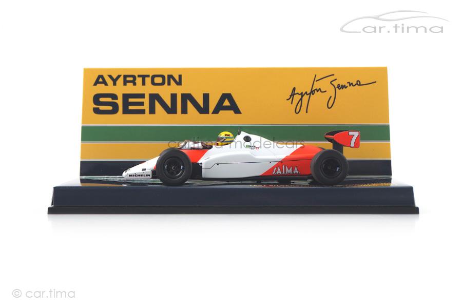 McLaren Ford MP4-1C Test Silverstone 1983 Ayrton Senna Minichamps 1:43 540834307