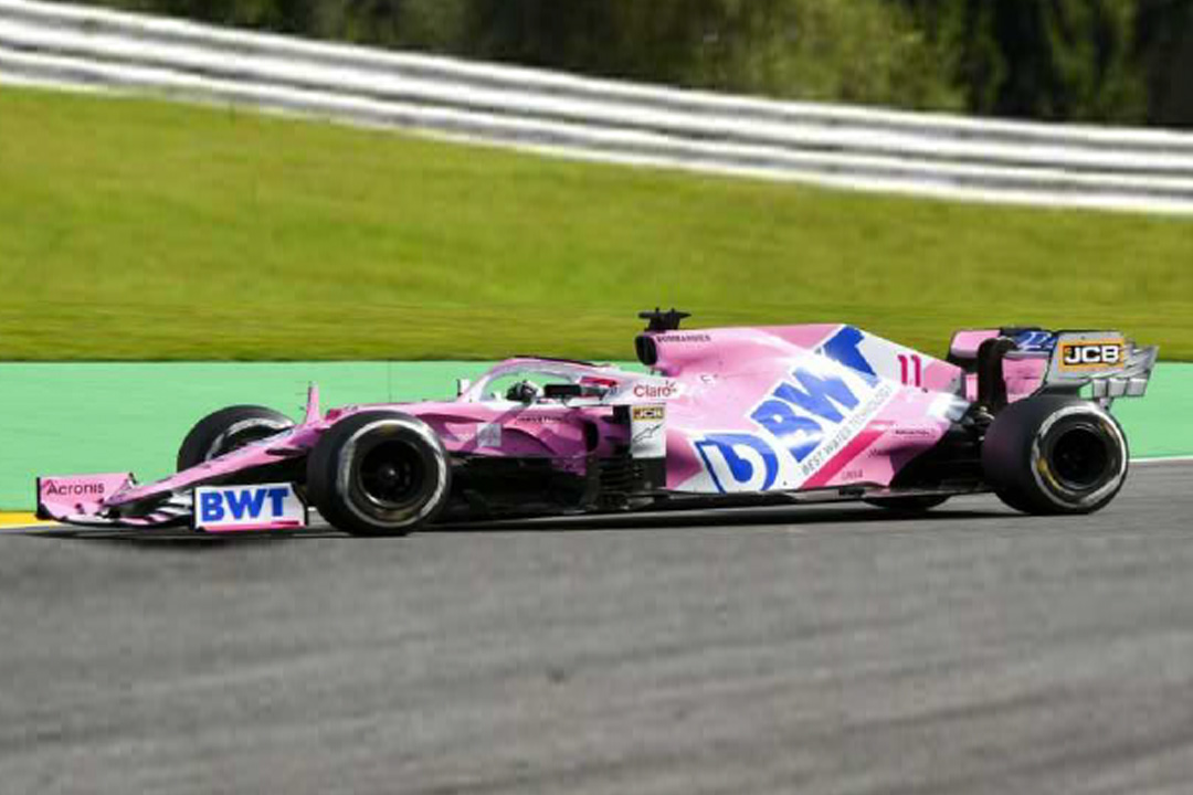 BWT Racing Point RP20 GP Belgien 2020 Sergio Perez Spark 1:43 S6497