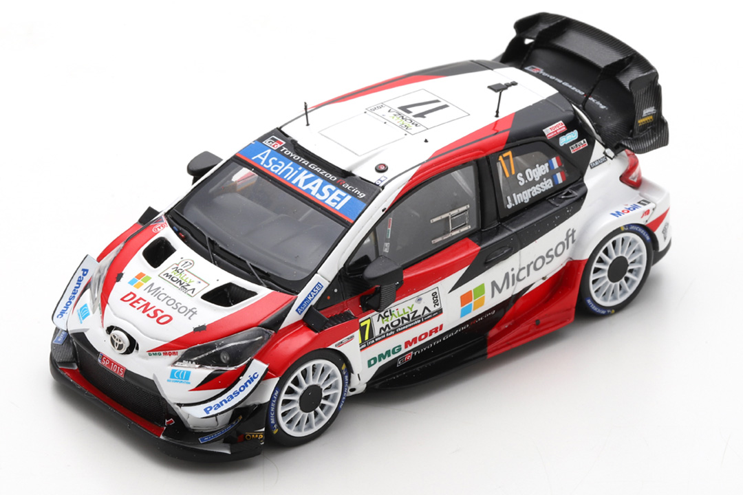 Toyota Yaris WRC Winner Rally Monza 2020 Ogier/Ingrassia Spark 1:43 S6572