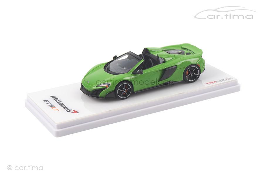 McLaren 675LT Spider Mantis green TSM 1:43 TSM430203