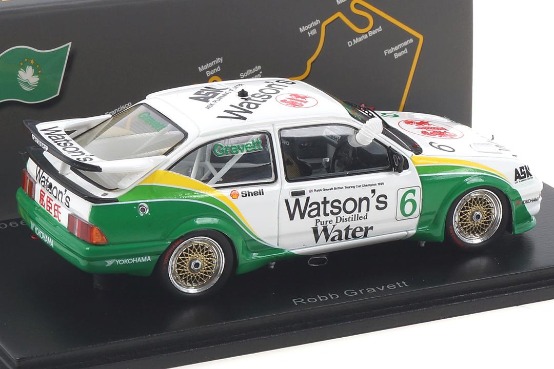 Ford Sierra RS500 Cosworth Macau 1990 Robb Gravett Spark 1:43 SA198