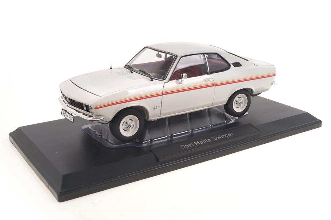 Opel Manta Swinger weiß Norev 1:18 183637